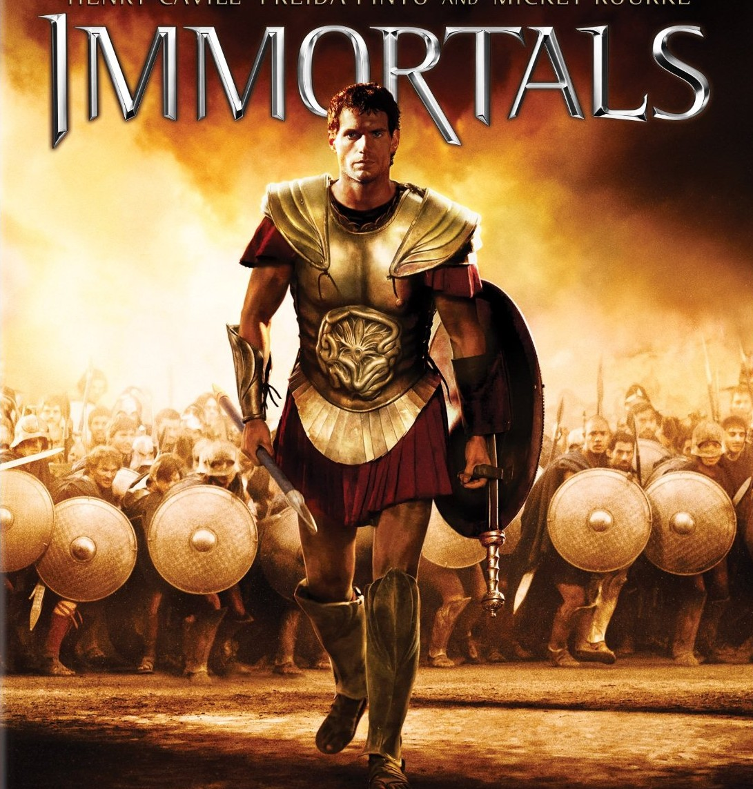 The Immortals Blu-Ray Cover