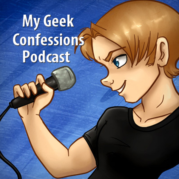 Cover Art for My Geek Confessions