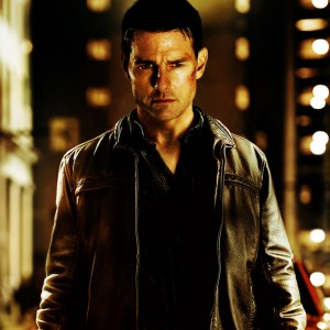 Jack Reacher movie poster with Tom Cruise
