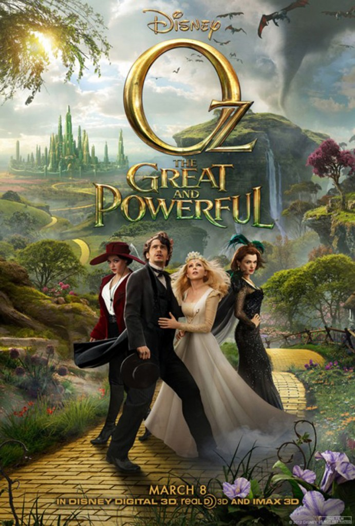 Oz the Geat and Powerful Movie Poster