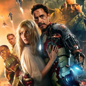 Movie Poster from Iron Man 3 IMAX version