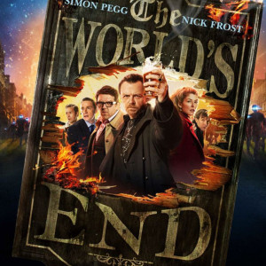 The movie poster for The World's End