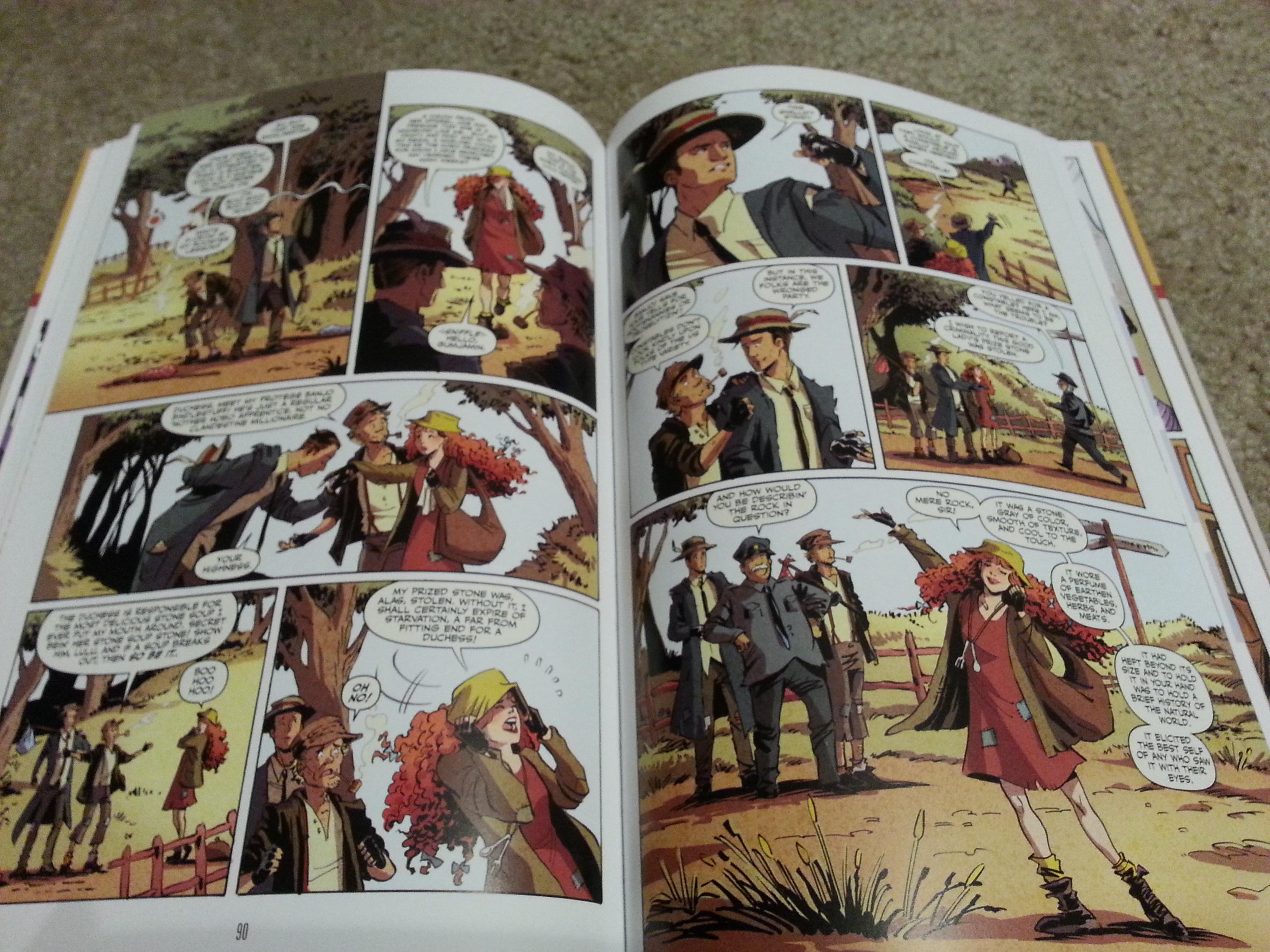 Krista S Korner The Thrilling Adventure Hour Graphic Novel