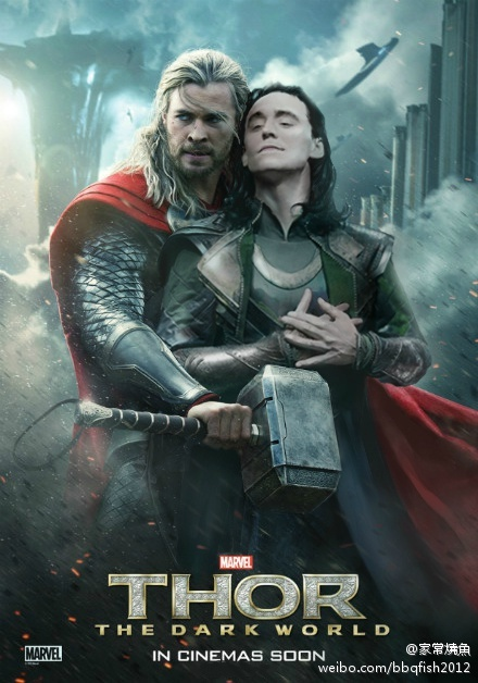 Thor Dark World Tumblr Poster 2