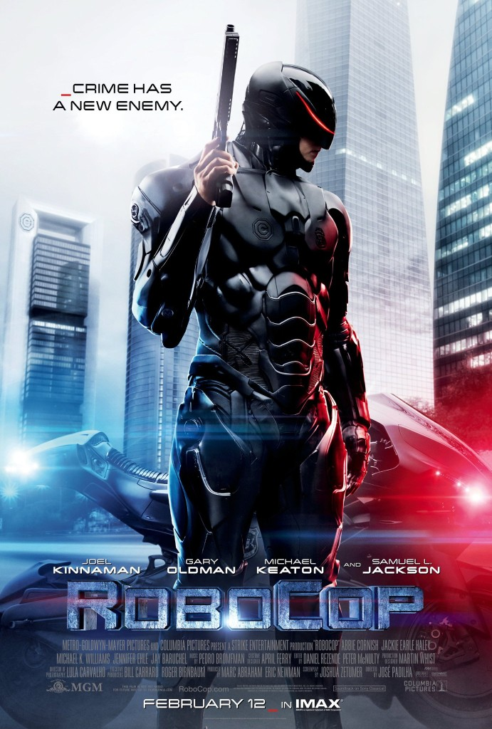 Movie Poster for the 2014 version of RoboCop