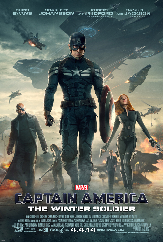 Captain America - The Winter Soldier Movie Poster