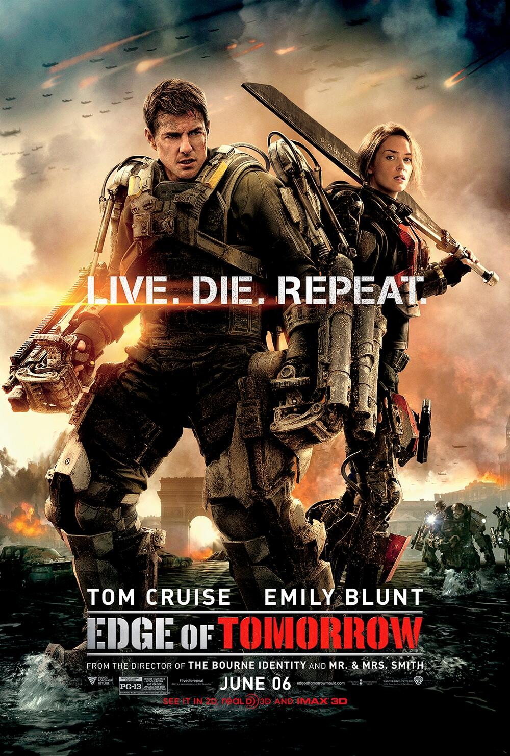 Edge of Tomorrow Movie Poster