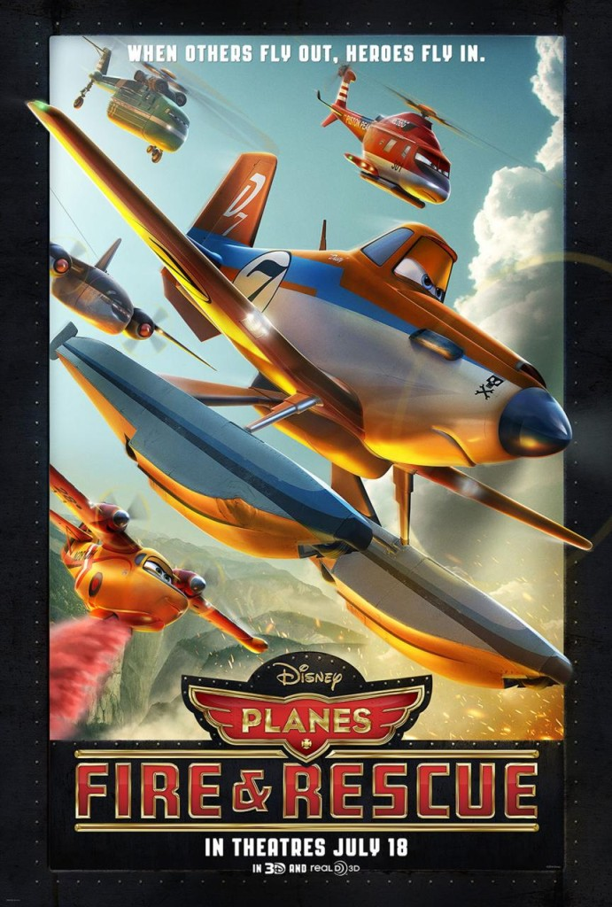 Planes - Fire & Rescue Movie Poster