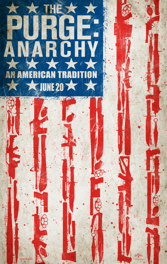 The Purge - Anarchy Movie Poster