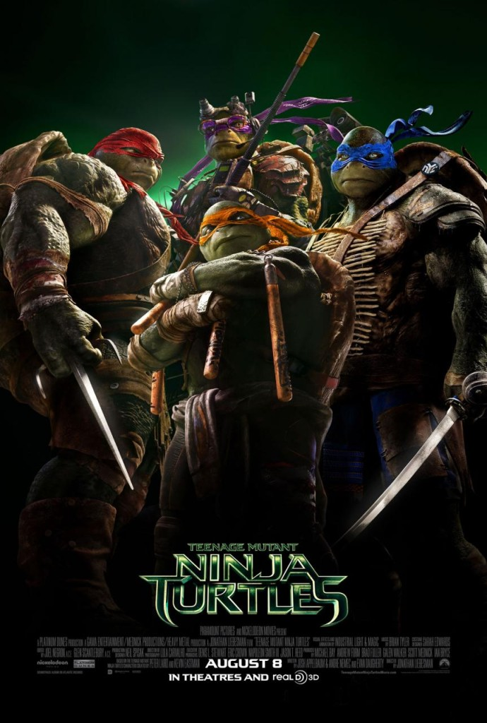 Teenage Mutant Ninja Turtle (2014) Movie Poster