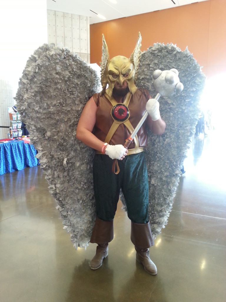 Shane Rolling as Hawkman - Arlington