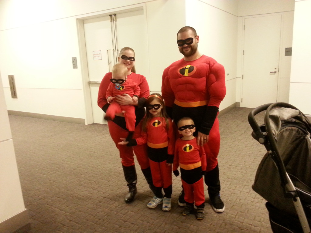 Palacios Family as The Incredibles - Grand Prairie