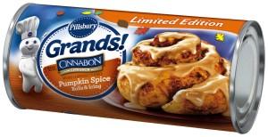 Pillsbury Grands pumpkin spice rolls
