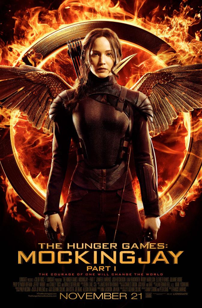 Hunger Games Mockingjay Part 1 Movie Poster Katniss