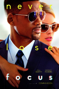 Movie Poster for Focus with  Will Smith