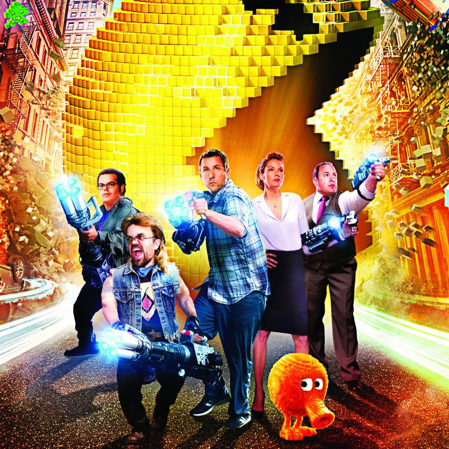Pixels Blu-ray Featured Image