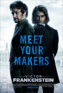 Victor Frankenstein - In Theaters November 25, 2015 - Thanksgiving