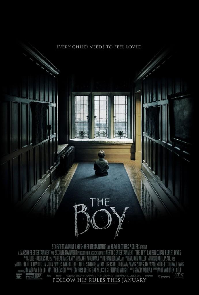 The Boy (2016 version) Movie Poster