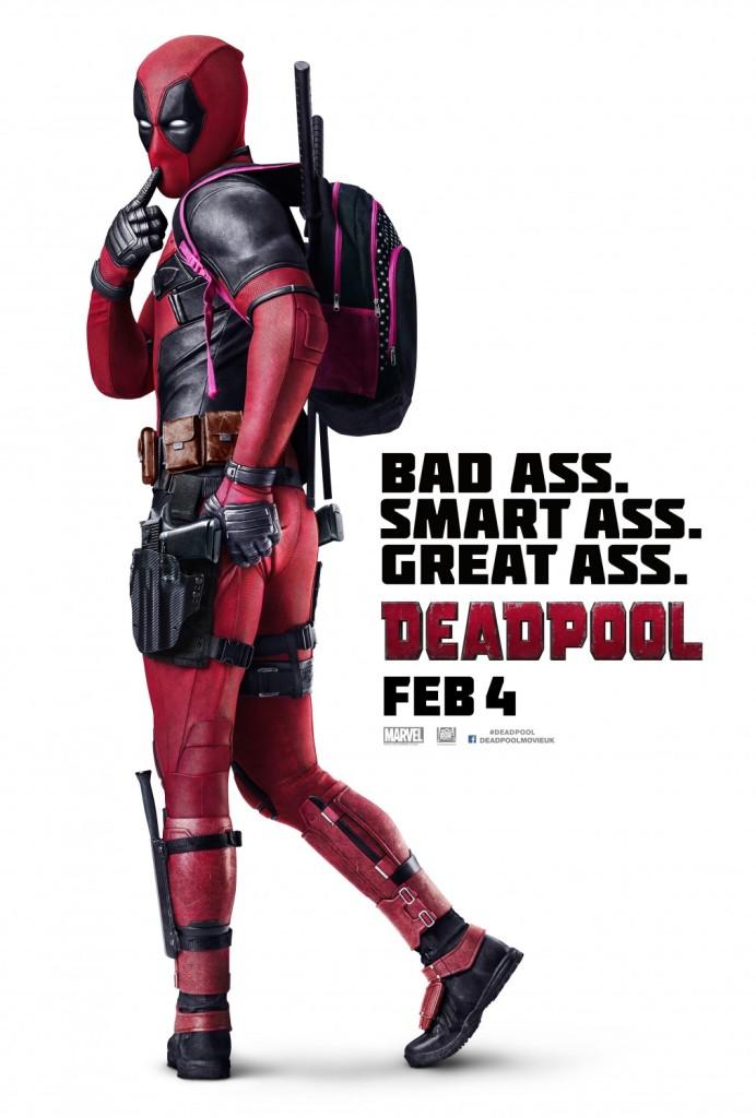 Great Ass Deadpool Poster