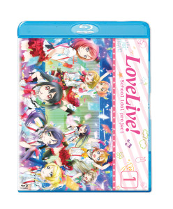 Love Live Season 1 Blu-ray Cover