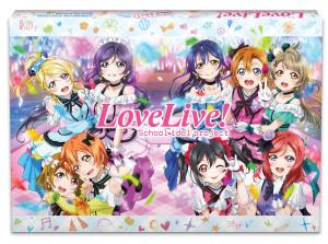 Love Live Season 2 Blu-Ray Cover
