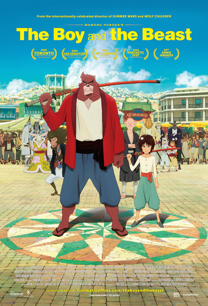 The Boy and the Beast Funimation Movie Poster