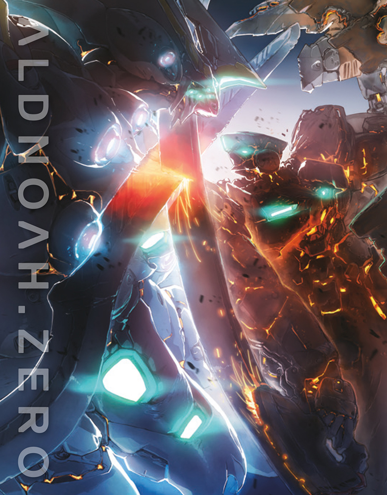 ALDNOAH.ZERO Set 4 Blu-ray Cover
