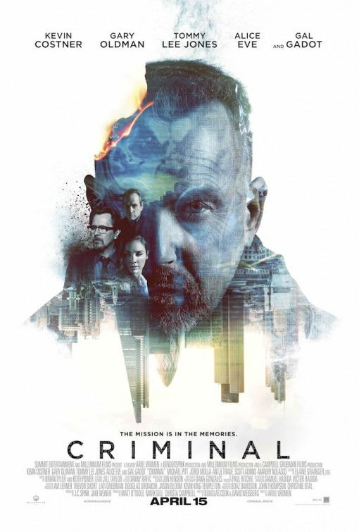 Criminal 2016 version Movie Poster