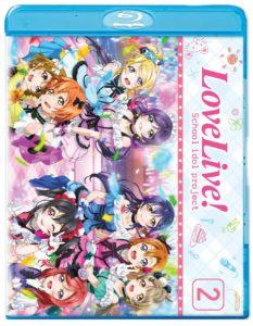 Love Live Season 2 Blu-ray Cover Art