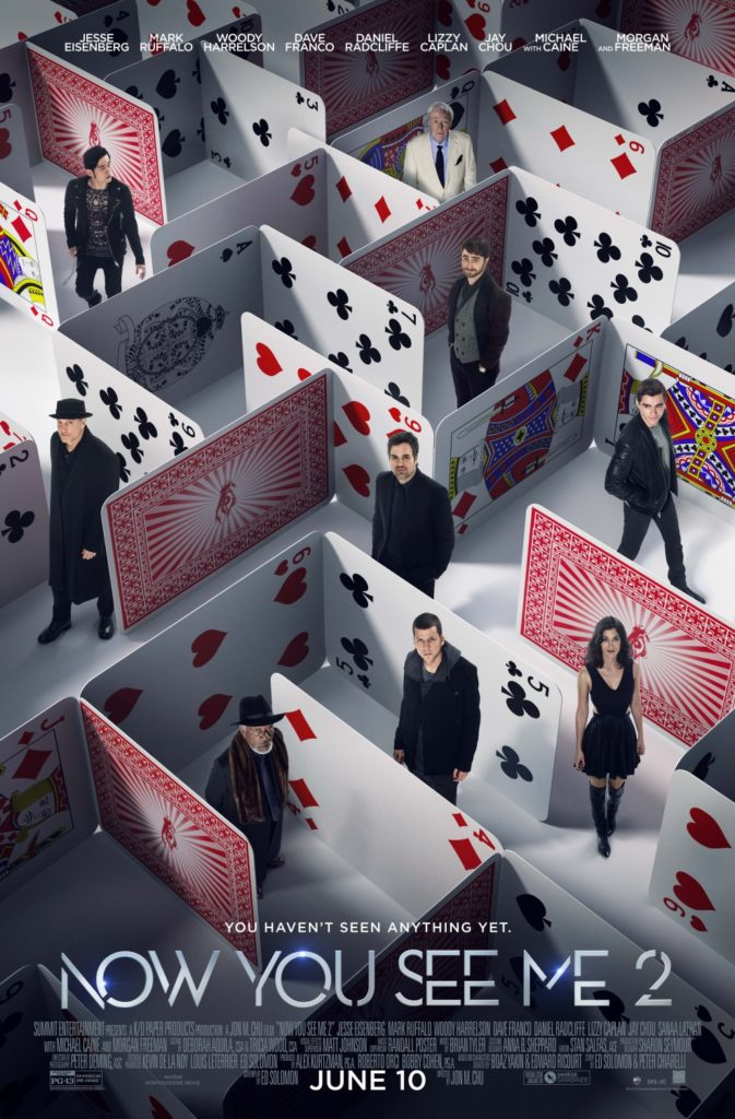 Now You See Me 2 Movie Poster