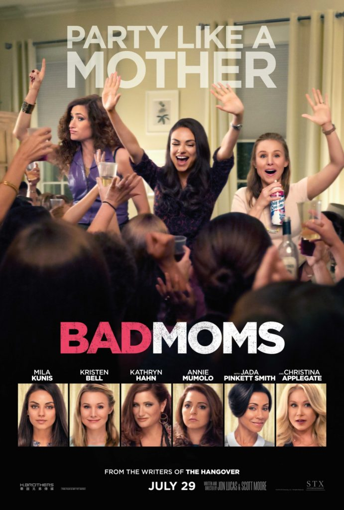 Bad Moms Movie Poster