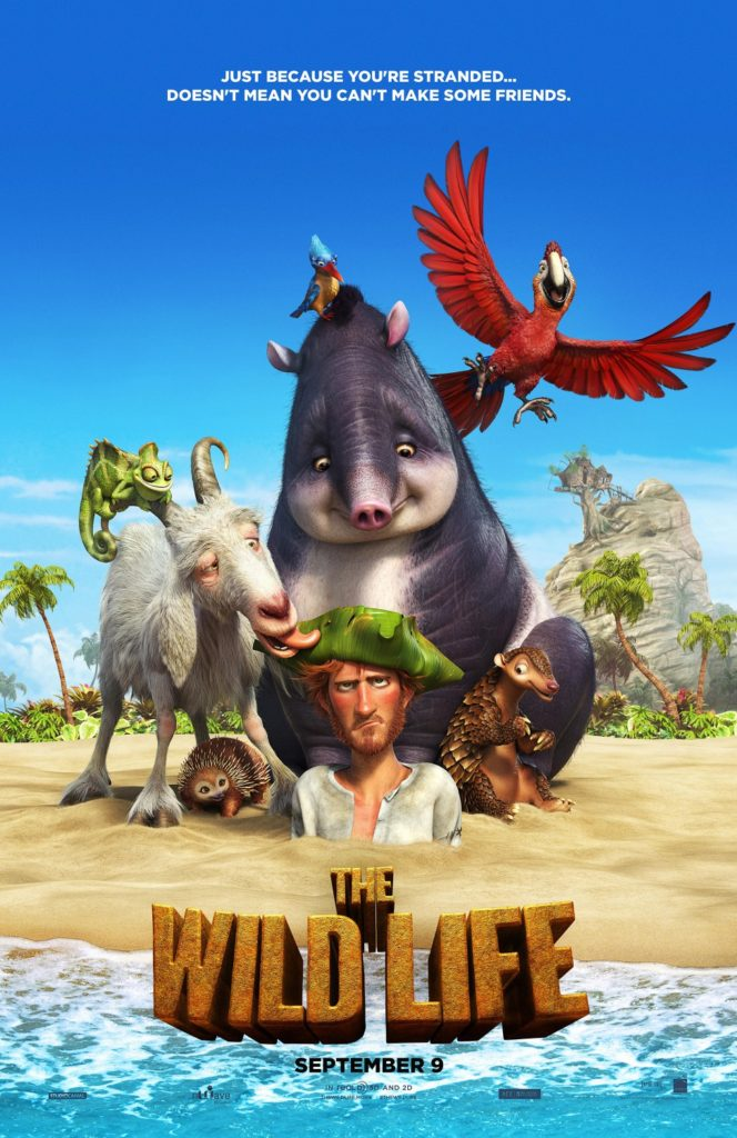 The Wild Life - Robinson Crusoe Movie Poster