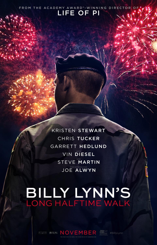Billy Lynn's Long Halftime Walk Movie Poster