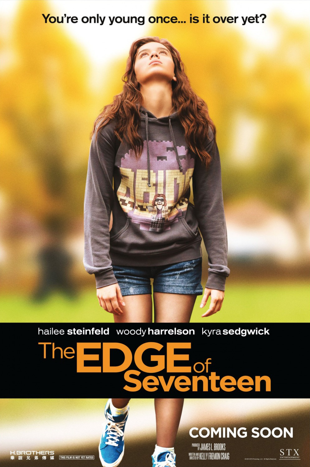 Edge of Seventeen Movie Poster