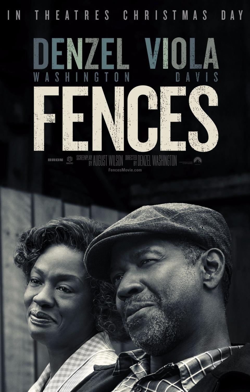 Fences Movie Poster