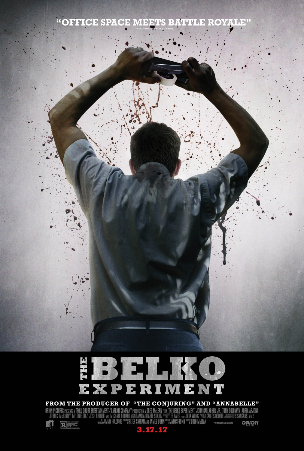 The Belko Experiment Movie Poster