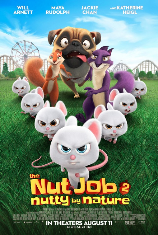 The Nut Job 2: Nutty by Nature Movie Poster 1