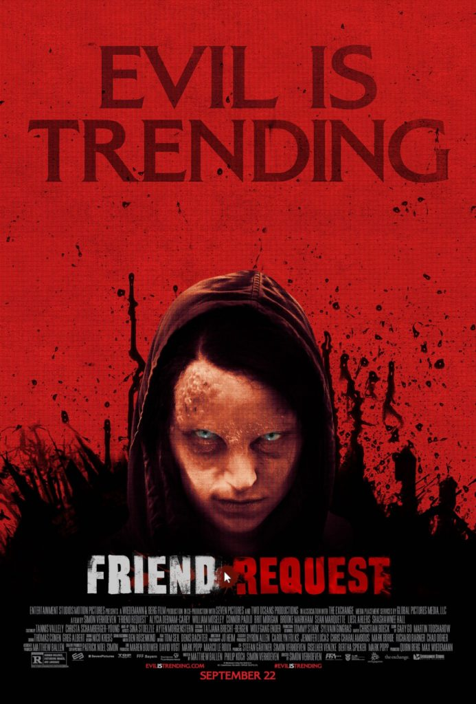 Friend Request Movie Poster