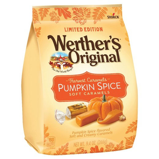 Pumpkin Spice Werther's Caramel Chews