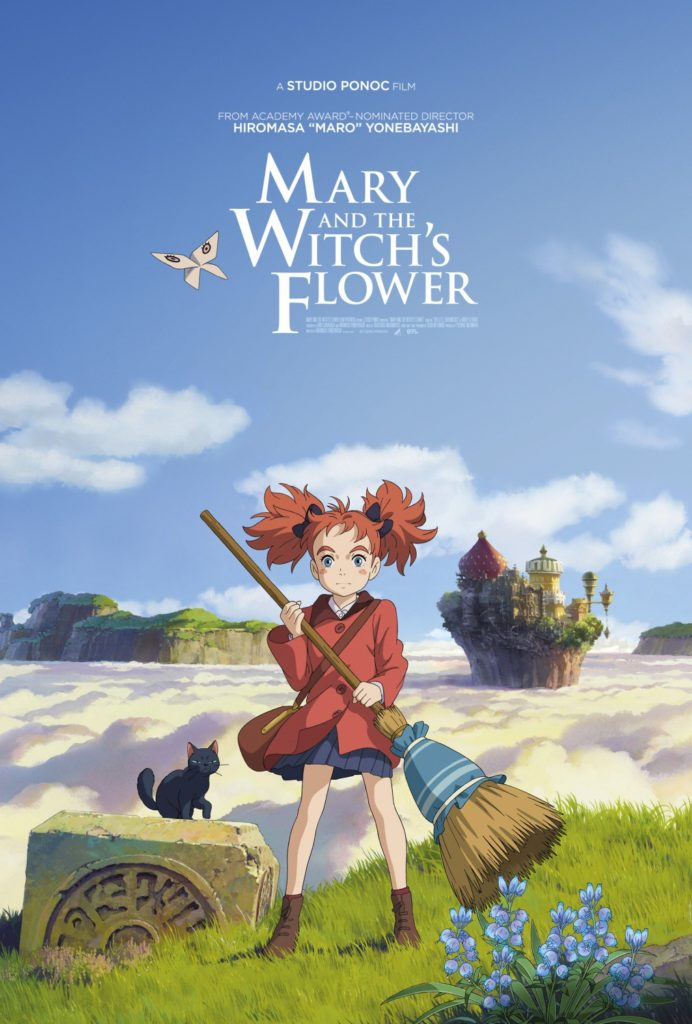 Mary and the Witch's Flower Movie Poster
