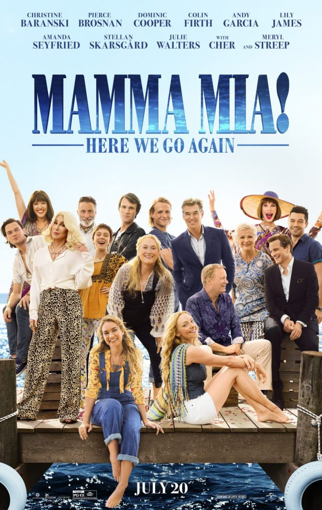 Mamma Mia: Here We Go Again! Movie Poster