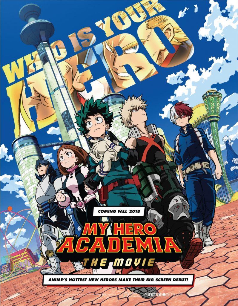My Hero Academia: Two Heroes Poster